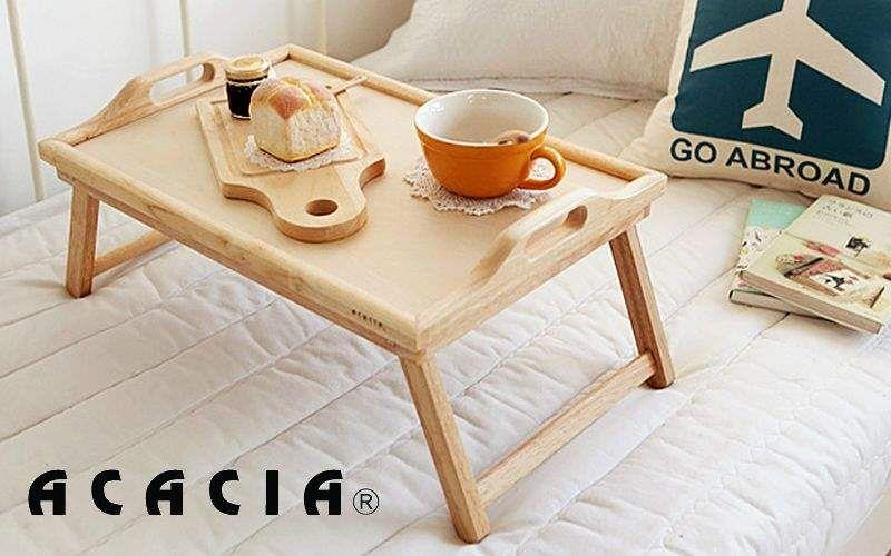 Acacia Vassoio colazione da letto Pedana Cucina Accessori  |