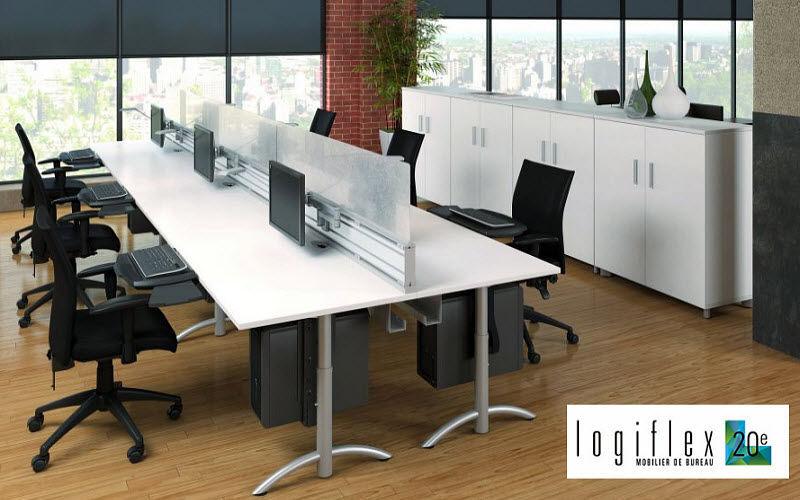 LOGIFLEX Postazione ufficio open space Scrivanie e Tavoli Ufficio  |