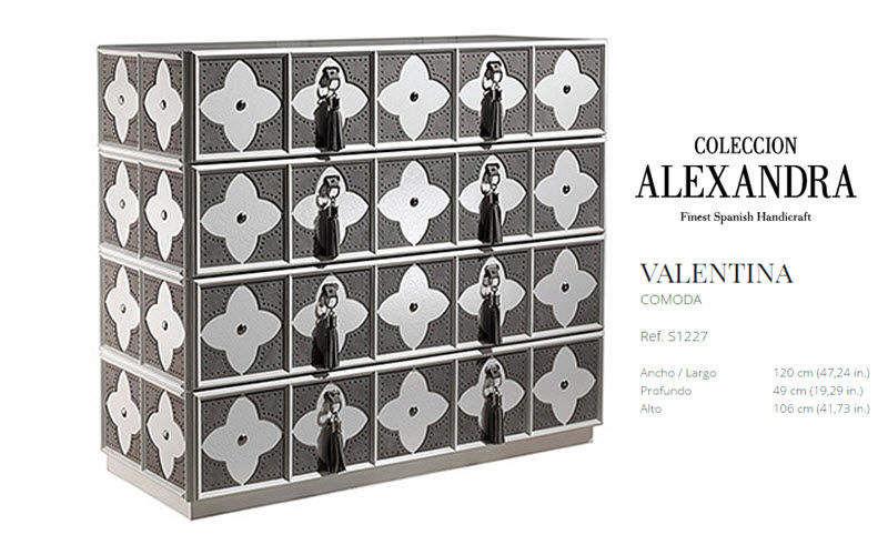 COLECCION ALEXANDRA Comò / Cassettone Mobili con cassetti Armadi, Cassettoni e Librerie  |
