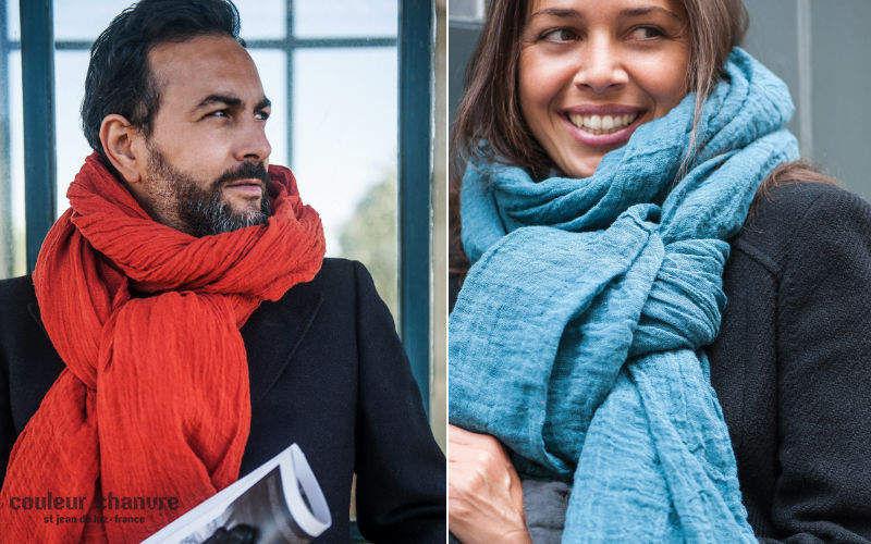 Couleur Chanvre Sciarpa Abbigliamento Oltre la decorazione  |