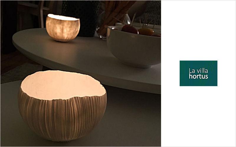 LA VILLA HORTUS Bicchiere portacandela Candele e candelabri Oggetti decorativi  |