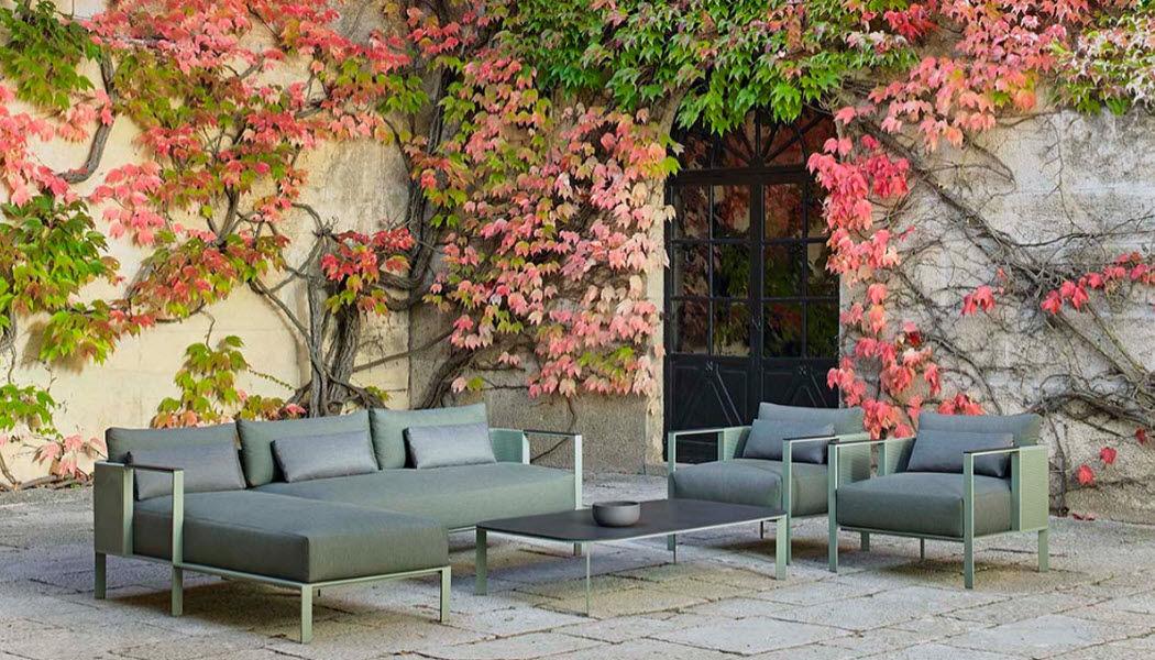 GANDIA BLASCO Divano da giardino Salotti da giardino completi Giardino Arredo Giardino-Piscina | Design Contemporaneo