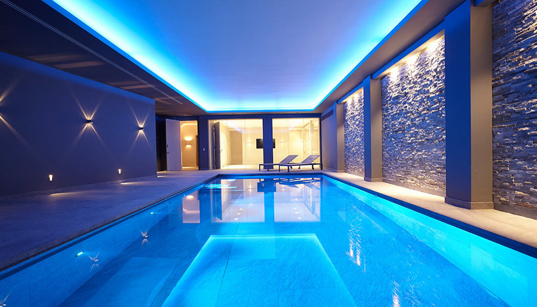GUNCAST SWIMMING POOLS Piscina per interni Piscine Piscina e Spa  |