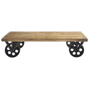 Tavolino soggiorno con ruote