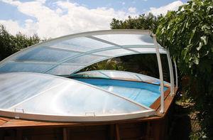 Abrisud Copertura pieghevole amovibile per piscina