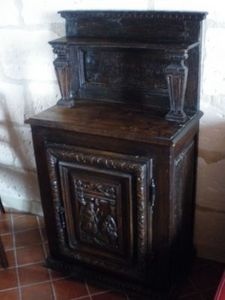 Art & Antiques - suberbe meuble fin xviie - Credenza