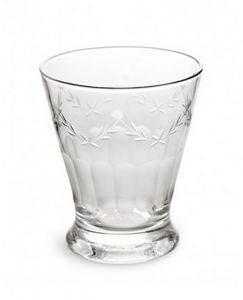 Rosanna - etched glass french bistro - Bicchiere