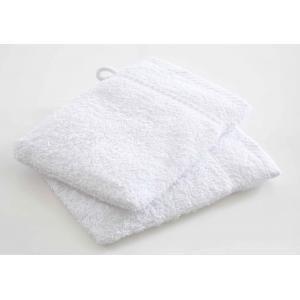 TODAY - lot de 2 gants de toilette - couleur - blanc - Asciugamano Toilette