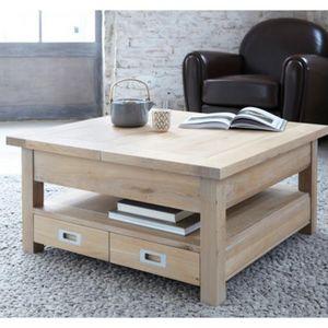 ARTI MEUBLES - table basse toronto - Tavolino Quadrato