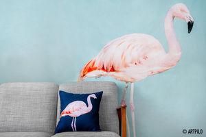 ARTPILO - pink flamingo - Carta Da Parati
