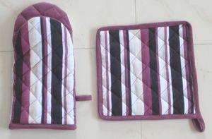 ITI  - Indian Textile Innovation - stripes - Guanto Da Forno