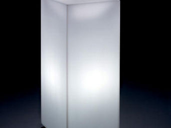 Lyxo by Veca - home fitting cubo alto outdoor - Tavolino Luminoso