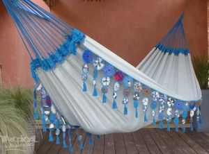 Hamac Tropical Influences - maranguape bleu - Amaca
