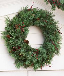 BALSAM HILL - cyprès - Corona Di Natale