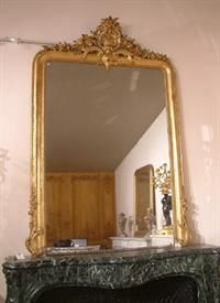 Abj Cheminees Anciennes -  - Specchio