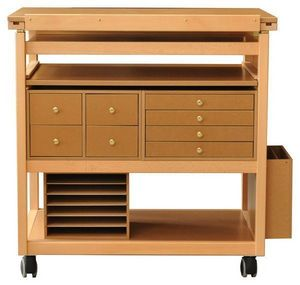 Auboi - meuble atelier scrapbooking - Tavolo Da Disegno