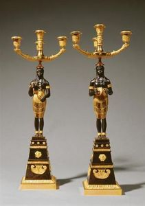 MIESSENGALLERY - candélabres russes - Candelabro
