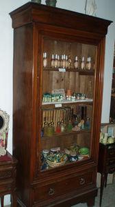 Lola Brocante - armoire louis philippe - Armadio Vetrina / Cristalliera