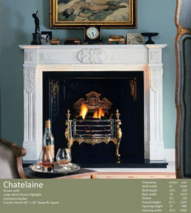 Acquisitions (fireplaces) -  - Camino Con Focolare Aperto