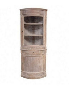 DECO PRIVE - meuble d angle double corps bois ceruse - Angoliera