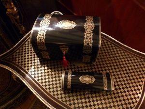 Art & Antiques - coffrets estampillés tahan xixe - Cofanetto Portagioie