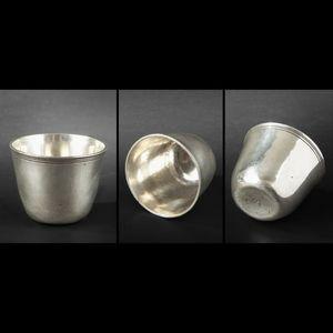 Expertissim - gobelet en argent, xviiie siècle - Bicchiere Di Metallo