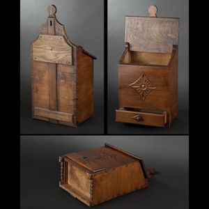 Expertissim - boîte à farine en bois fruitier - Barattolo Sale