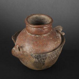 Expertissim - vase en forme d?oiseau de proie. cuasmal - Objetto Precolombiano