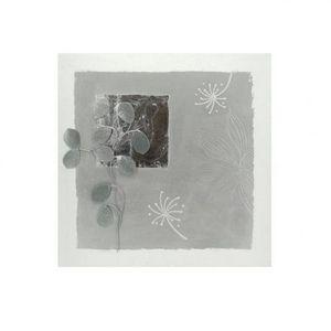 Maisons du monde - toile argentée quartz - Fotografia