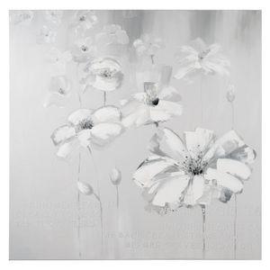 Maisons du monde - toile jardin de fleurs - Tela