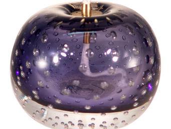 LE SOUFFLE DE VERRE - lampe à huile en verre soufflé montanblau - Lampada A Olio