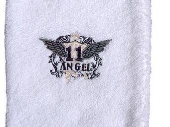 SIRETEX - SENSEI - gant 16x22cm brodé 500gr/m² angel - Guanto Da Bagno
