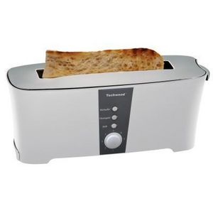 TECHWOOD - grille pain techwood blanc ou noir - couleur - bla - Tostapane