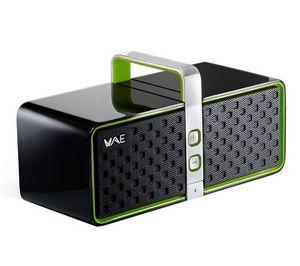 HERCULES - wireless audio experience bt03 - vert - enceinte b - Altoparlante Docking Ipod/mp3