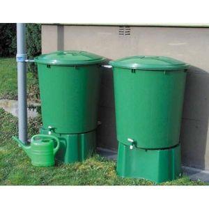GARANTIA - kit recuperation eau de pluie ensemble de 2 cuves - Sistema Di Recupero Acqua Piovana