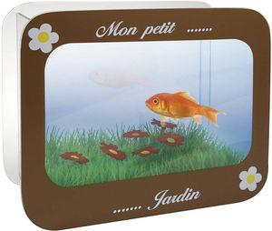 ZOLUX - aquarium déco petit jardin taupe 30x13x25cm - Acquario