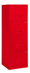 PIERRE HENRY - colonne de rangement tiroirs en métal - Schedario A Cassetti