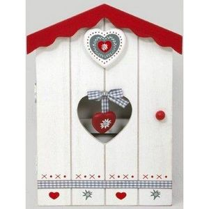 FAYE - boîte à clés coeur - Armadietto Chiavi