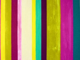 Le Quartier des Tissus - tissu imprime vegas mulberry - Tessuto Stampato