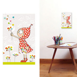 SERIE GOLO - pissenlits - Quadro Decorativo Bambino