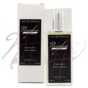 NICOLOSI CREATIONS - eau de parfum homme nicolosi parfum h 6 - nicolosi - Vaporizzatore