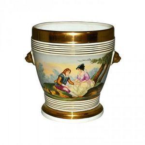 Demeure et Jardin - cache pot style louis philippe - Coprivaso