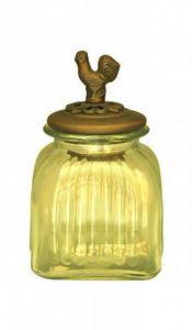 Demeure et Jardin - bocal couvert oiseau petit modèle - Vasetto Da Cucina