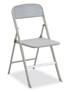 Calligaris - chaise pliante alu grise de calligaris - Sedia Pieghevole