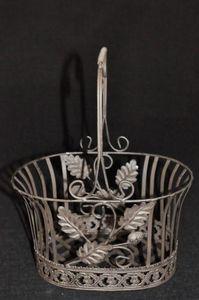 Demeure et Jardin - panier collection chêne rouillé - Canestro