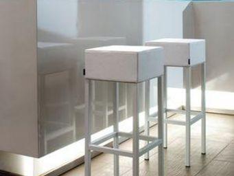 Mathi Design - tabouret cube - Sgabello Da Bar