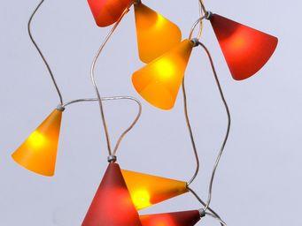 Pa Design - guirlande - coucher de soleil 20 lumières 3,1m | g - Ghirlanda Luminosa