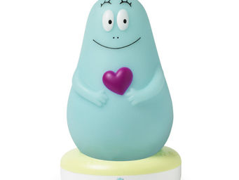 PABOBO - lumilove - veilleuse rechargeable barbapapa bleu | - Oggetto Luminoso