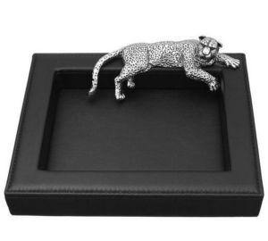 Benneton - léopard - Svuotatasche