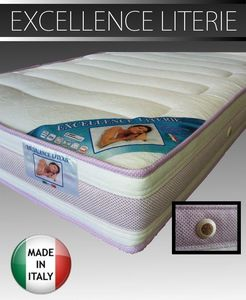 WHITE LABEL - matelas excellence literie longueur couchage 190 c - Materasso In Gommapiuma